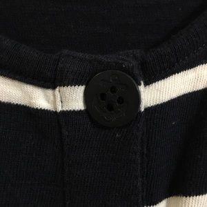 J. Crew Dresses - J. Crew knit striped button up tank dress